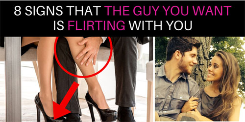 flirting signs he likes you will get pregnant quiz