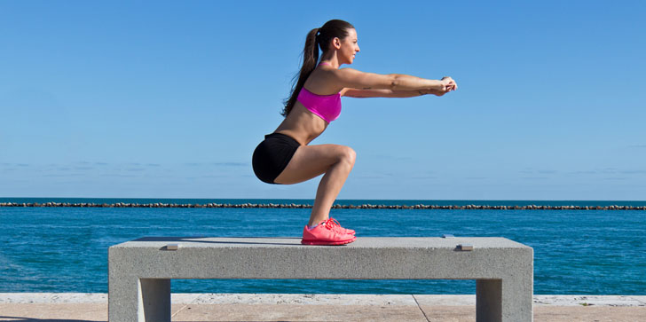 4 Week Squat Challenge Will Get You Fit