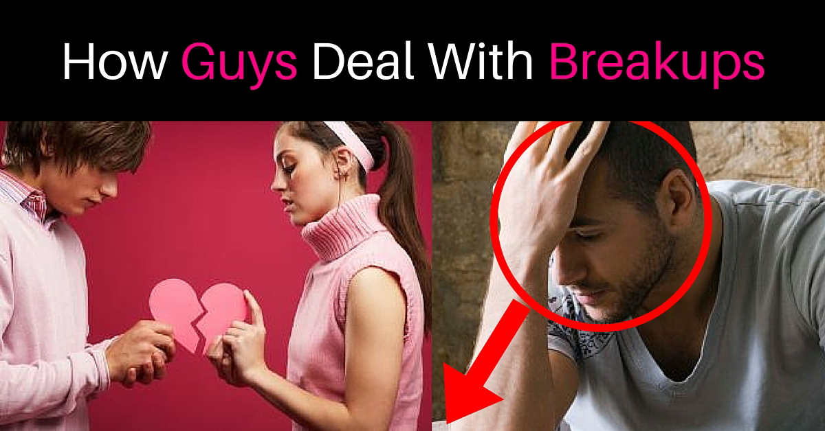 How do men cope with breakups