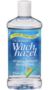Can witch hazel get rid of acne