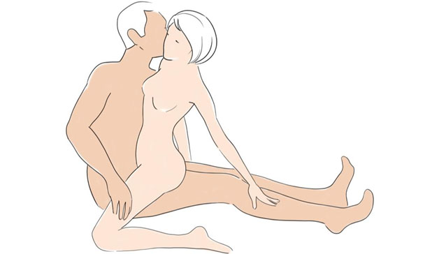 Sex positions that pleasure the male