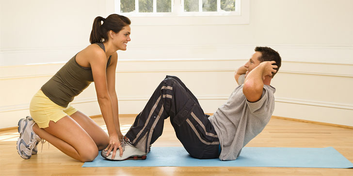 how to get your partner to work out with you