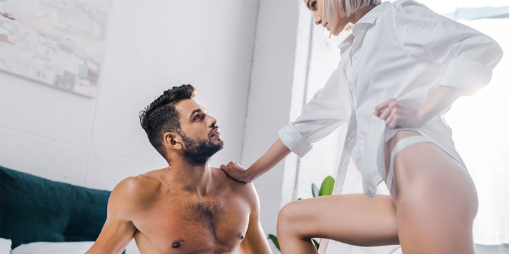 How To Turn Him On: 30 Sexy Things To Do With Him When He's Naked